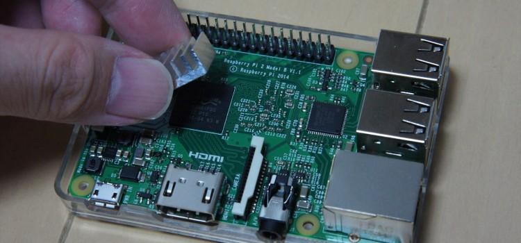 Raspberry Pi Model B+ / Pi2用 ヒートシンクセット