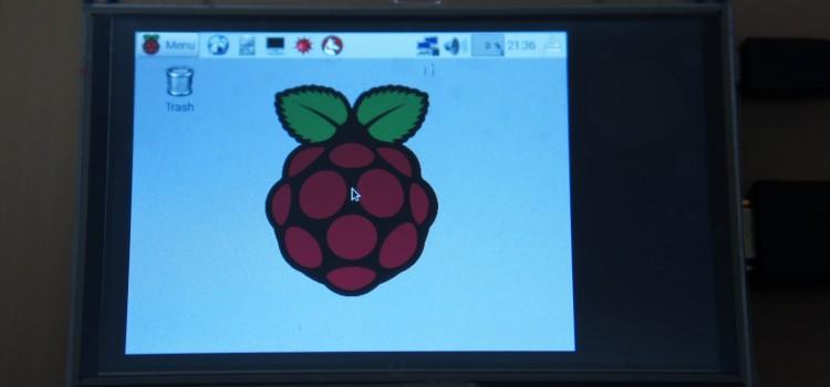 Raspberry Pi で 800×480のHDMIディスプレイを使用する