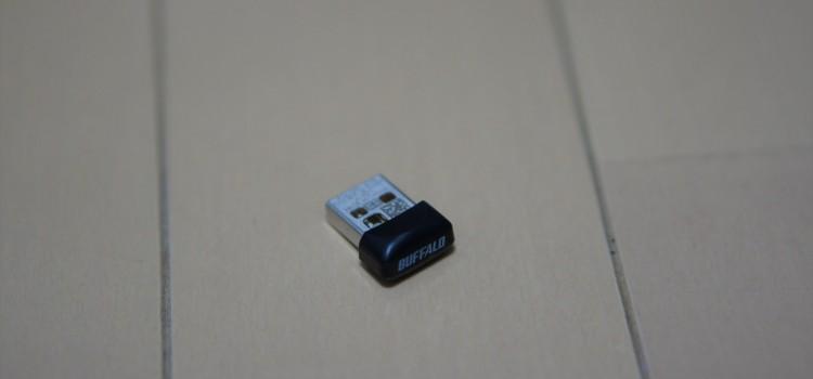 BUFFALO エアーステーション 11n/g/b USB2.0用 無線LAN子機 WLI-UC-GNM